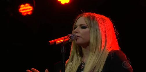 Avril Lavigne - I Fell In Love With The Devil (Live at The Late Late Show with James Corden)