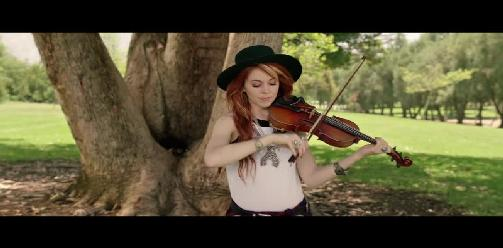 Lindsey Stirling Ft. Andrew McMahon - Something Wild
