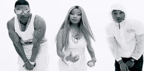 Nelly Ft. Pharrell Williams & Nicki Minaj - Get Like Me