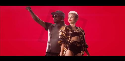will.i.am Ft. Miley Cyrus, French Montana & Wiz Khalifa - Feelin Myself