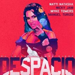 Natti Natasha, Nicky Jam & Manuel Turizo Ft. Myke Towers, DJ Luian & Mambo Kingz - Despacio